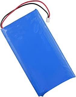 ジイエクサ Gexa リチウムポリマー電池 3.7V 2000mAh コネクタ付 ICチップ 保護回路内蔵 PSE認証済 GA-016 (ゆうパケット対応)
