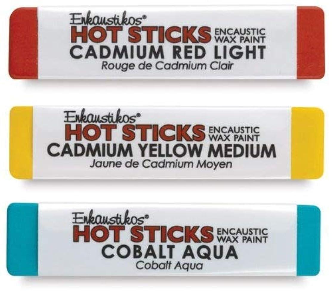 Hot Sticks Encaustic Wax Paints - Jet Black