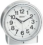 "Seiko 5"" Bedside Alarm Clock with Dial Light, Beep & Sooze"