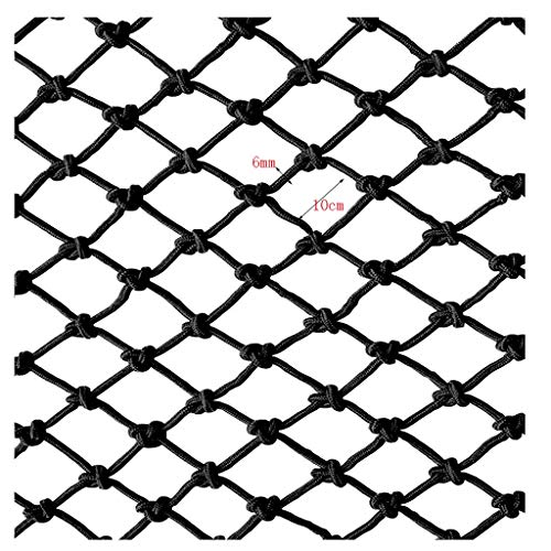 Best Buy! NIUFHW Cargo Net, Black Rope Net Child Protection Net Balcony Safety Net Stairs Anti-Fall ...
