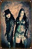 Nightwish Blechschilder Dekoration Retro Vintage Metall