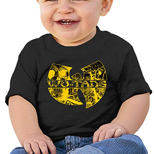 Wu Tang Clan Logo Yellow Baby Onesie Outfits