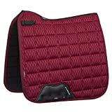 LeMieux Carré De Dressage d'air en Maille De Carbone Large Mulberry
