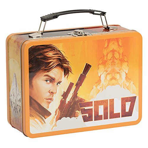 Star Wars Lunch Box A New Hope Episode 4 Tin Tote Lunchbox Luke Han Solo