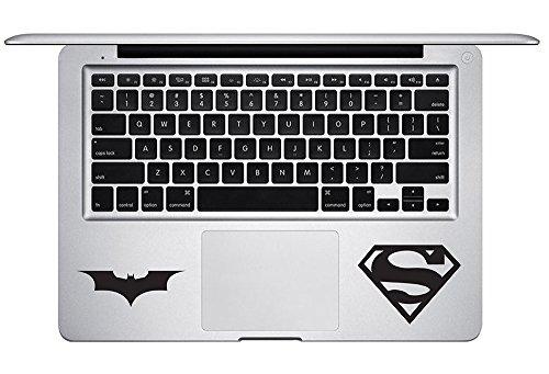 Batman VS Superman for MacBook Laptop trackpad Keyboard car Die-Cut Vinyl Decal Sticker