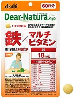 アサヒ ディアナチュラ スタイル 鉄×マルチビタミン 60粒 2個セット【栄養機能食品】