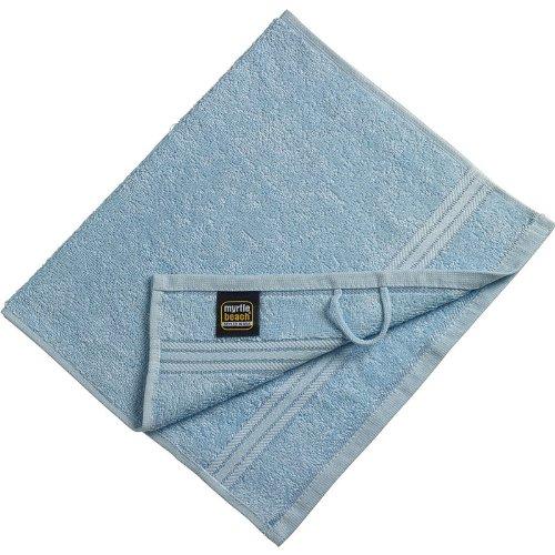 Myrtle Beach - serviette de toilette invité - bleu clair - 30 x 50 cm - MB420