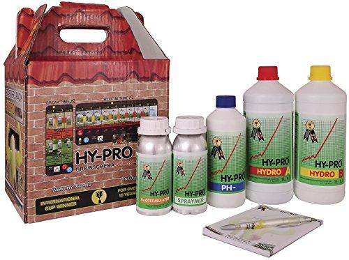 Kit Engrais / Fertilisant por la Culture HY-PRO Starter Pack Hydro