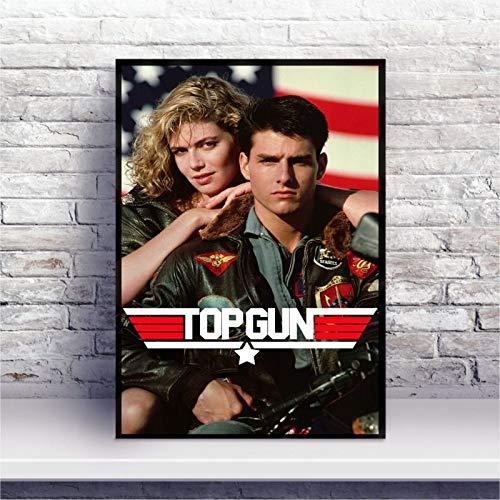 Placa MDF Top Gun - Ases Indomáveis filme