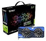 Palit GeForce GTX 1080 Ti GameRock GeForce GTX 1080 Ti 11GB GDDR5X - Tarjeta gráfica (NVIDIA, GeForce GTX 1080 Ti, 7680 x 4320 Pixeles, 1505 MHz, 1518 MHz, 11 GB)