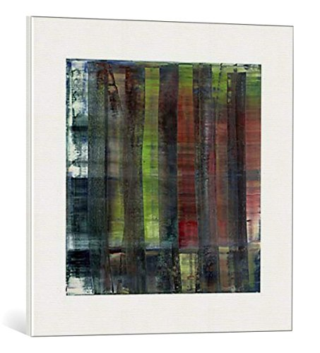 kunst für alle Leinwandbild: Gerhard Richter Abstract Painting 1992