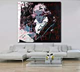 Wandkunst Bild Poster Beethoven Von Famous Painter Artwork