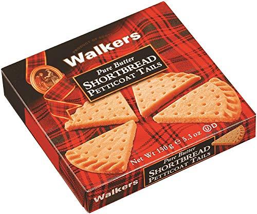 Walkers - Confezione Biscotti Scozzesi Petit Tail 150 gr - Confezione da 24PZ