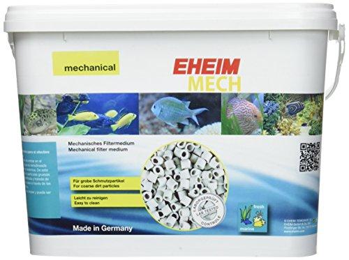 Eheim Mech mecánico pre-Filtering Anillos de cerámica tamaño Mediano (Hueca) 5L