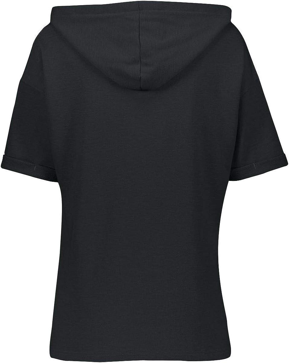Holloway Womens Ladies Sophomore Short Sleeve Hoodie
