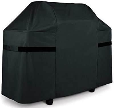 7555 Texas Premium Barbecue Grill Cover With Grill Brush And Tongs B00K9IM8AI