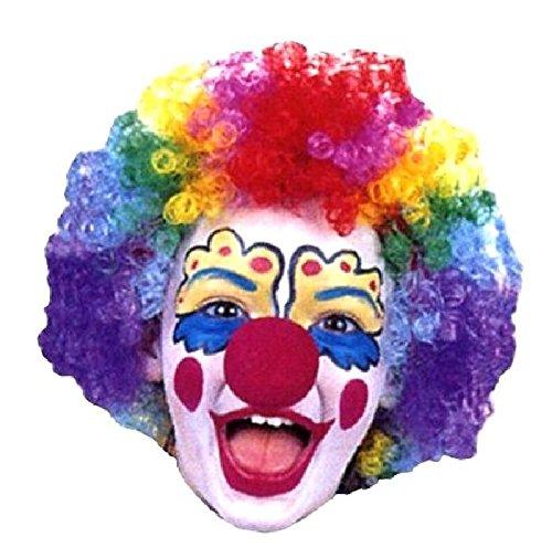 Mondial-fete - Perruque Maxi Clown Multicolore