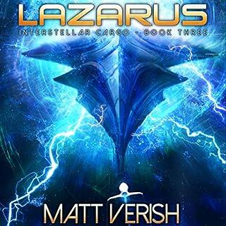Lazarus audiobook cover art