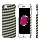 pitaka Minimalistische iPhone 8/iPhone 7 Hülle, Amaridfaser[Kugelsicheres Material] Handyhülle,...