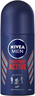 NIVEA MEN Everyday Active Roll On Anti-Perspirant Deodorant, 50ml