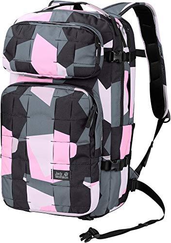 Jack Wolfskin Unisex– Erwachsene Trt 32 Rucksack, pink geo Block, One Size