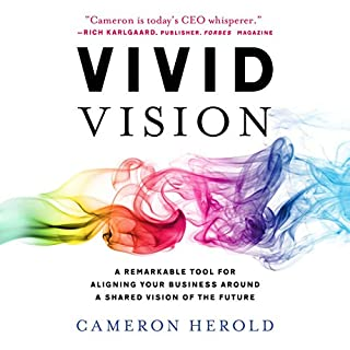 Vivid Vision: A Remarkable Tool for Aligning Your Business Around a Shared Vision of the Future audiobook cover art