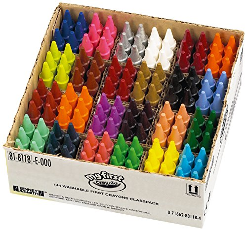 Crayola - Education My First Crayons Classpack of 144 - 24 Colours