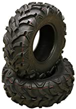 2 New ATV/UTV Tires 25x8-12 /6PR P341-10157
