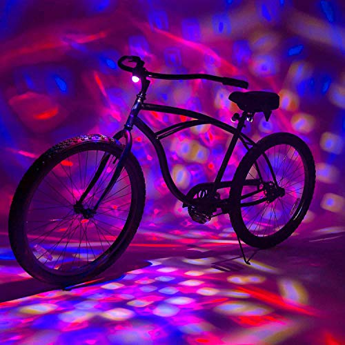 Activ Life Disco Lights [Red/White/Blue] Bicycle Lights - Cool Gifts for Men & Boys - Great Festival...