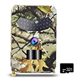 <span class='highlight'><span class='highlight'>Festnight</span></span> 12MP 1080P Trail Camera Hunting Game Camera with 32GB MicroSD Card Outdoor Wildlife Scouting Camera with PIR Sensor Infrared Night Vision IP56 Waterproof
