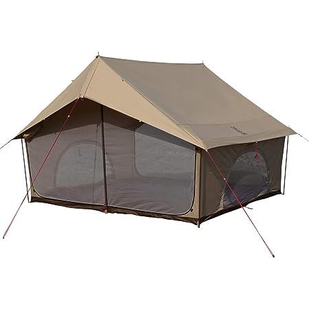 DOD(ディーオーディー) エイテント クラシックな外観の家型テント ポリコットン生地