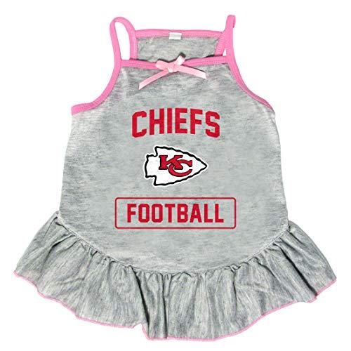 Littlearth NFL Kansas City Chiefs Pet Dress, Small