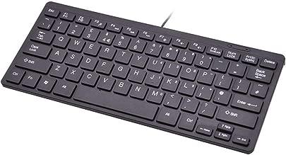 78 Tasten Mini-Tastatur  tragbares  ultrad nnes Zubeh r Schlanke USB-Multimedia-Einheit f r Laptop-PCs Leichte  leise  kompakte  kabelgebundene Metallic-Oberfl che