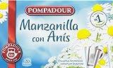 Pompadour Té Infusion Manzanilla con Anís - 20 bolsitas -
