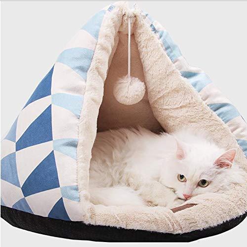 YLCJ universele slaapzak voor huisdieren Four Seasons, gesloten slaapzak van Nido voor huisdieren (grootte: 50 40 cm), 62×50cm