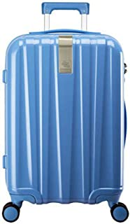 XIAO Suitcase for 3-piece scratch-resistant rotating hard case, (black), size, (33 * 24 * 49) cm Happy day (Color : Light blue, Size : 14 * 10 * 20 inch)
