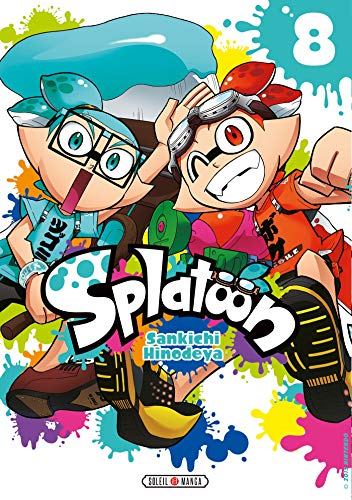 Splatoon Edition simple Tome 8