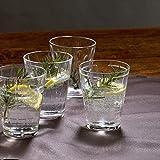 Villeroy & Boch - Dressed Up Wasserglas-Set, 4 tlg., 310 ml, 8,6 cm, zurück in die Fünfziger und Sechziger, Kristallglas, spülmaschinengeeignet - 5