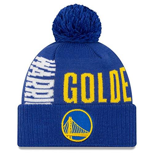 New Era Bobble Beanie - NBA TIP OFF Golden State Warriors