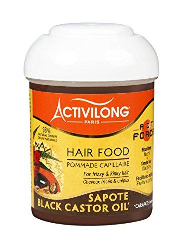 Activilong - Actiforce Hair Food Unguento per Capelli al Carapate e al Sapote, da 125ml, Confezione da 2 Pezzi