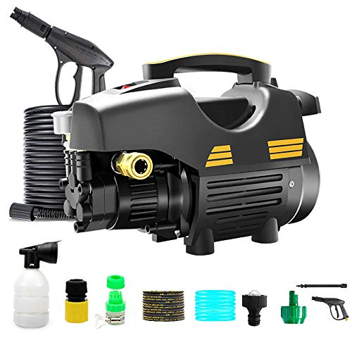 Great Features Of HYM 2200W 5-11MPа 250-380 L/h Pressure Washer Jet Wash Power Washer with Adjustab...