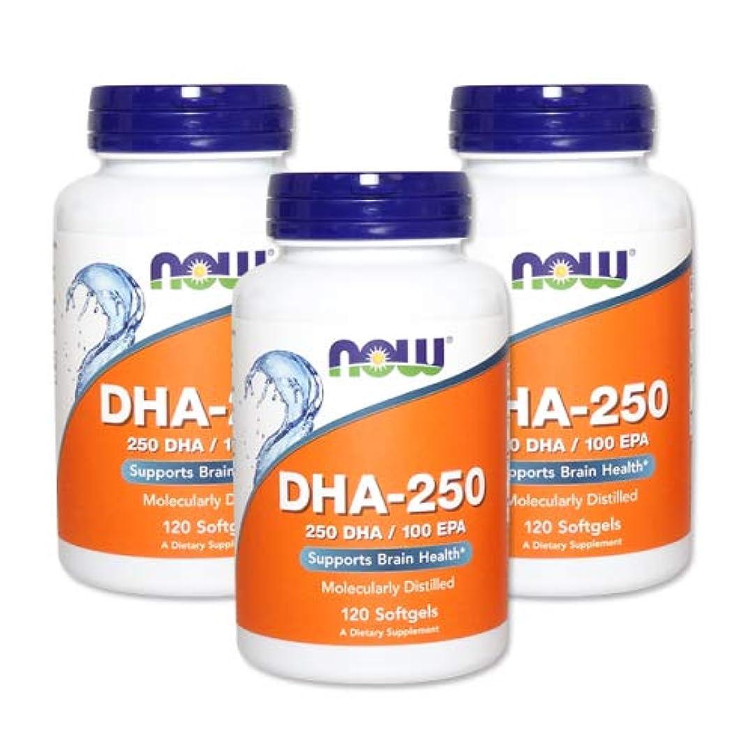 罪人所得橋脚3個セット DHA-250 120粒(DHA&EPA配合) [海外直送品]