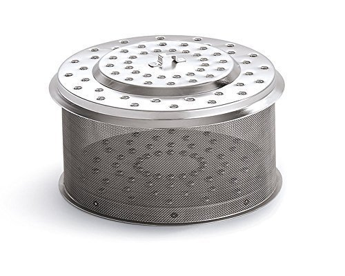 LotusGrill XL para acero inoxidable Recipiente de carbón XL Modelo 2014. Especialmente Diseñado Para Barbacoa/-Parrilla de mesa