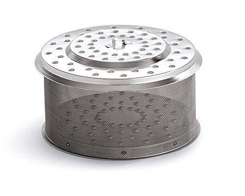 LotusGrill XL Ersatz Edelstahl-Kohlebehälter XL Modell 2014! Speziell entwickelt für den raucharmen Holzkohlegrill/Tischgrill