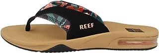 REEF Women's Fanning Flip-Flop, Hibiscus, 8