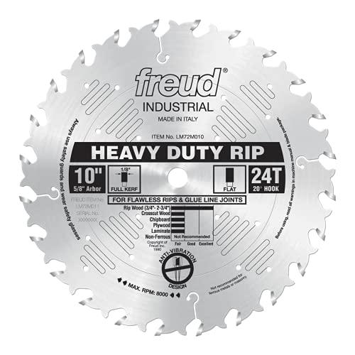 Freud 10' x 24T Heavy-Duty Rip Blade (LM72M010)