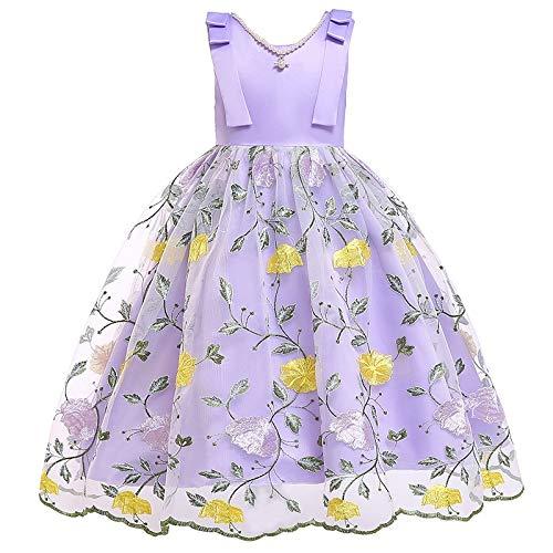 Vestito Da Festa Per Ragazze de los niños vestido de flores niña...