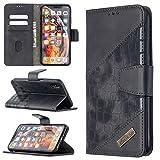 Couverture de cas Cas pour iPhone XS Max Max Premium Multifonctionnel Portefeuille Mobile...