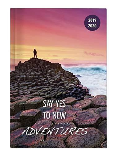 """Diario agenda scuola collegetimer """"Travel"""" 2019/2020 - Giornaliera - 352 pagine - 10x15 cm"""