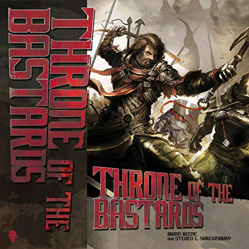 Throne of the Bastards audiobook cover art
